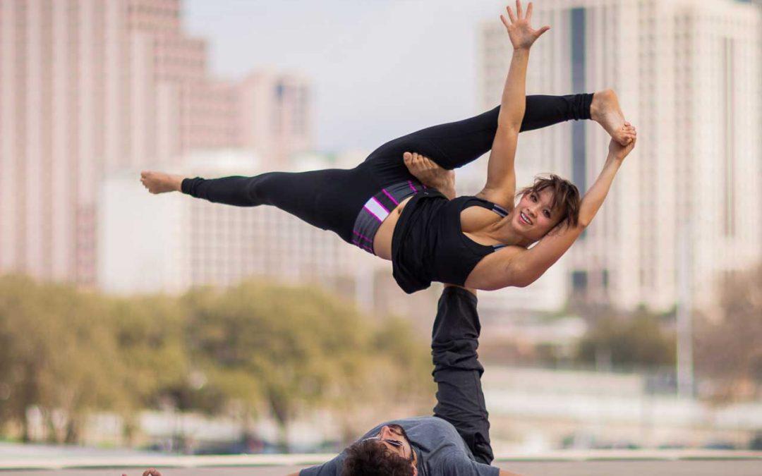 yoga in volo