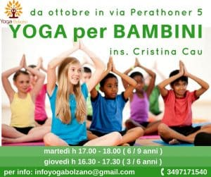 corso yoga Bambini