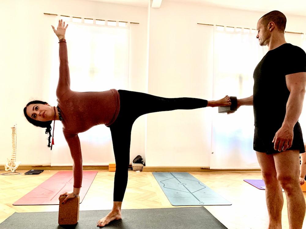 lezioni individuali Yoga e Pilates